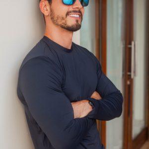 Camisa UV – Preta