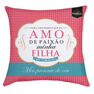 ALMOFADA DECORATIVA – FILHA PAIXÃO