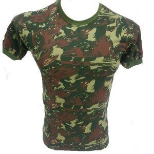 T-Shirt Adventure Camuflado Exército