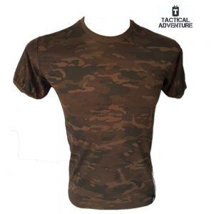 T-Shirt Adventure Multicam Black